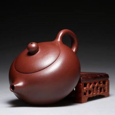 名家全纯手工紫泥西施壶 宜兴紫砂壶正品家用套装功夫茶具茶壶