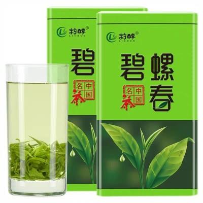 碧螺春新茶绿茶礼盒罐装散装浓香型明前春茶日照充足茶叶500g