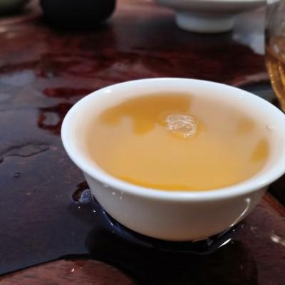 普洱茶易武茶区筒箐河黄金叶250g