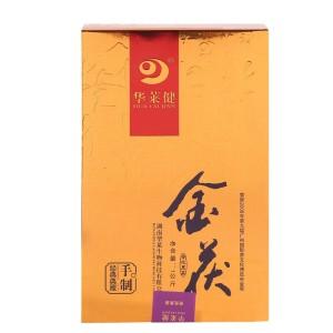 黑茶华莱健金茯2010年安化黑茶手筑茯砖 1000克