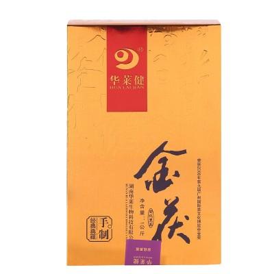 黑茶华莱健金茯安化黑茶手筑茯砖 1000克