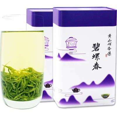2020新茶叶精选明前碧螺春绿茶春茶散装味浓清香型500g罐装