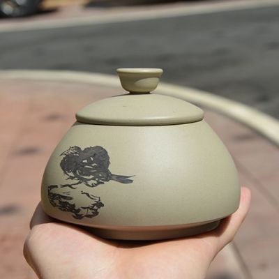 云南建水紫陶 名家大师 纯手工 茶具 迷你台面醒茶罐 全国包邮