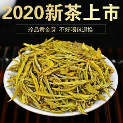 正宗安吉白茶黄金芽茶叶高山明前特级礼盒散装黄金叶绿茶新茶250g