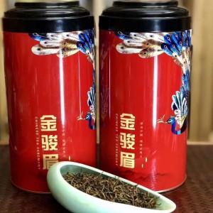 金骏眉茶叶 头春武夷山正宗浓香型黄牙蜜香功夫红茶罐装500g