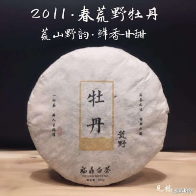 福鼎白茶荒野牡丹珍品2011年药香味枣香味白牡丹