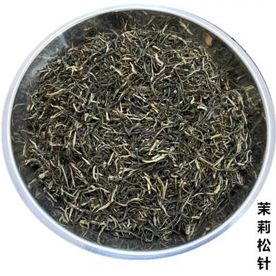 2020新茶广西横县茉莉松针特级浓香型茉莉花茶500g罐装礼盒