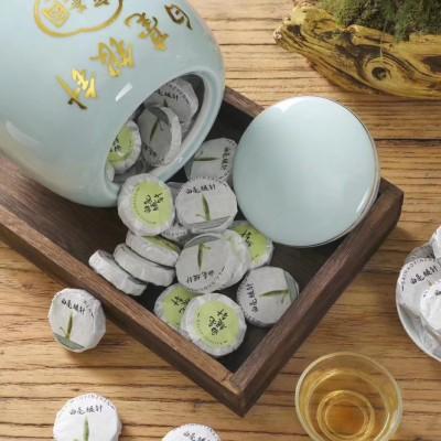 2020头采明前新茶白毫银针  高档品质好茶 纯芽头500克