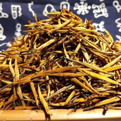 云南凤庆滇红大金针  古树大金针  嫩芽滇红茶 蜜香  一斤500克