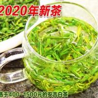 2020年新茶叶安吉白茶茶片500g特级白茶碎片绿茶春茶明前散装直销