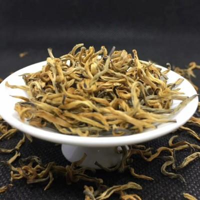 2021红茶滇红金丝芽 明前头道新茶 高档品质好茶 单芽头 披金带毫