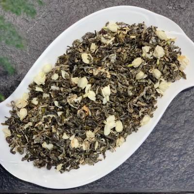 茉莉花茶当季茉莉花与高山绿茶窨制而成入口鲜浓春的清新和夏的芬芳完美融合