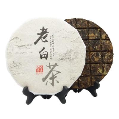 福鼎白茶2017年老白茶饼格子饼三年寿眉150g厂家直销