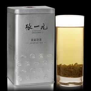 北京张一元茉莉花茶香茗银桶特级浓香型2019新茶240g罐装