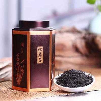 武夷山新茶 正山小种 125克红茶岩茶罐装散装浓香型