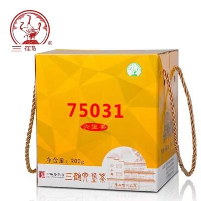 三鹤六堡茶【75031】2017年特级散茶900g梧州茶厂黑茶叶特价