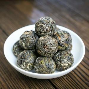 云南普洱茶生茶小沱茶散装特级古树球形小粒装 景迈龙珠茶250克
