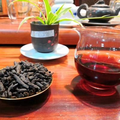 糯米香茶化石碎银子普洱茶500克熟茶散茶  10年  云南高品质茶叶