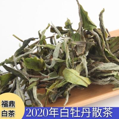 厂家直销2020年福鼎白茶白牡丹散500g茶花香茶叶
