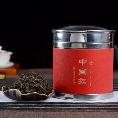 凤庆茶叶散装礼盒装送礼 云南滇红茶特级800年古树中国红250克
