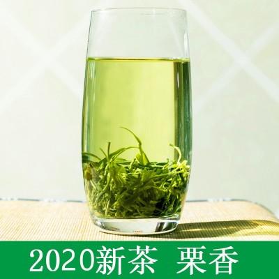 2020新茶四川雅安绿毛峰茶叶散装明前绿茶500g特级散装绿茶