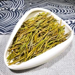 浙江高山绿茶安吉白茶黄金芽2020新茶特级黄金茶叶500克散装