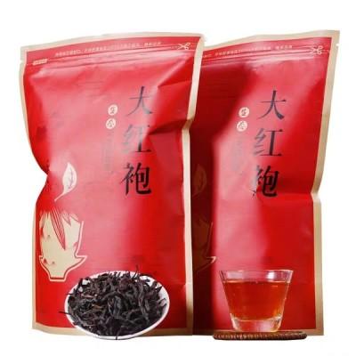大红袍茶叶共500g武夷山正岩茶肉桂春茶新茶乌龙茶散装袋装买1送1