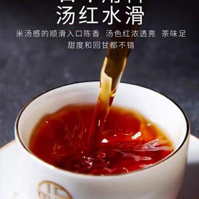 云南普洱茶熟茶茶叶宫廷熟茶散茶金芽特级陈年老茶勐海普洱茶熟茶