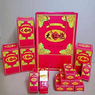 武夷山大红袍武夷岩茶兰花香清香一份4大盒一大盒10小盒,总共40小包茶