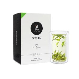 2020新茶绿茶 极白安吉白茶礼盒装正宗一级50g 珍稀春茶茶叶