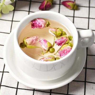 买2送1玫瑰花茶女人茶泡水茶花草茶山东平阴干玫瑰花食用组合散装150g
