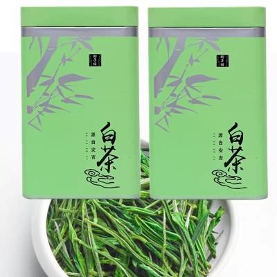2020新茶叶正宗安吉白茶 高山雨前白茶绿茶250g散装春茶茶农直销