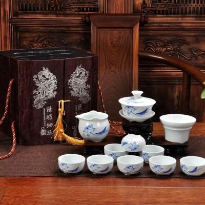 茶具/陶瓷茶具套装/功夫茶具套装/白瓷茶具套装/茶杯/盖碗