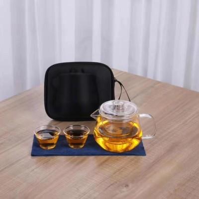 茶具/茶杯/玻璃茶具套装/快客杯/玻璃一壶二杯茶具套装/