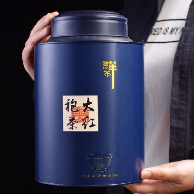 武夷山大红袍茶叶500g浓香型果香武夷岩茶水仙罐装礼盒装散装肉桂