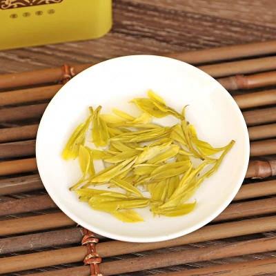 试喝 黄金芽2020新茶正宗雨前一级安吉白茶茶叶绿茶黄金叶50g