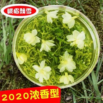 四川茉莉花茶2020新茶非特级浓香型散装茶叶大飘雪250g