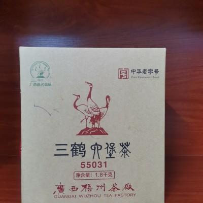 梧州茶厂三鹤六堡茶  55031  1.8千克特级茶叶
