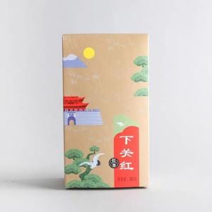 下关沱茶 2020年下关红 云南滇红茶 特级大叶种工夫红茶 300克盒