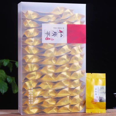 金骏眉 新茶武夷桐木关金骏眉红茶正山小种茶叶礼盒袋装共500克