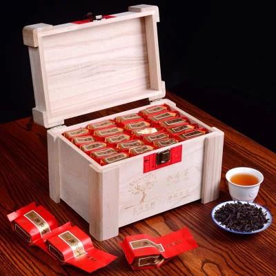 特级武夷山大红袍茶叶礼盒装武夷岩茶 送礼佳品木盒装320g