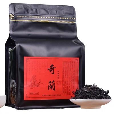 武夷山岩茶乌龙茶大红袍茶叶特级正宗浓香型正岩奇兰500g袋装散茶