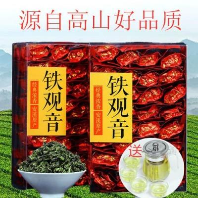 新茶 铁观音茶叶浓香型兰花香高山乌龙茶铁观音小包装袋装1斤