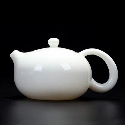 茶壶/羊脂玉瓷茶壶/泡茶壶/茶具/白瓷茶壶/玉瓷茶壶拍下3天内发货