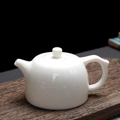 茶壶/茶具/羊脂玉瓷壶/白瓷壶/白瓷茶具/陶瓷茶具
