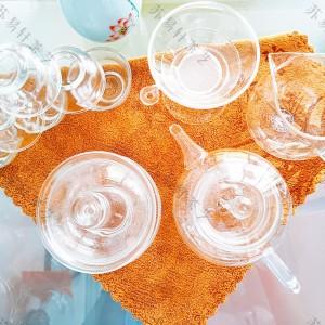玻璃茶具玻璃茶杯清新透明花茶茶具