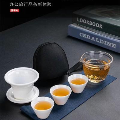 快客杯/陶瓷快客杯/旅行茶具套装/便携茶具套装/功夫茶具套装/陶瓷茶具