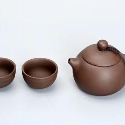 茶壶/茶杯/一壶两杯/泡茶杯/黑陶一壶两杯/陶瓷一壶两杯