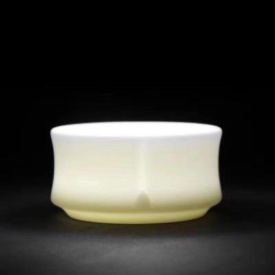 羊脂玉瓷杯/主人杯/茶杯/茶具/茶器/水杯/个人杯/主人杯包邮