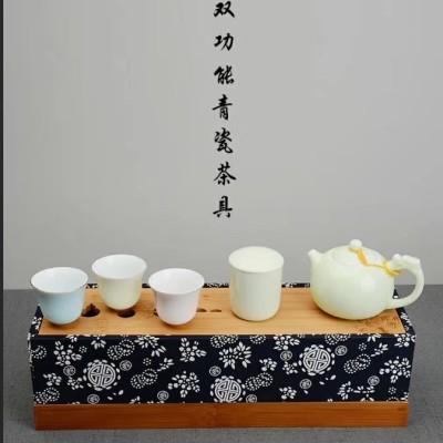 陶瓷茶具套装/茶具套装带干泡台/茶盘/茶具茶盘套装/功夫茶具套装